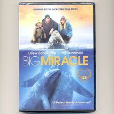 Big Miracle 2012 PG family movie, new DVD whales, Drew Barrymore, John Krasinski
