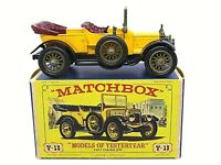 Matchbox Yesteryear Y13-2 1911 Daimler Type A12 In Type 'E' 'NEW MODEL' Box