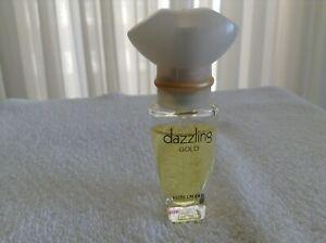 Estee Lauder Dazzling Gold Perfum Spray .17 oz Collectible Travel Bottle A5 RARE