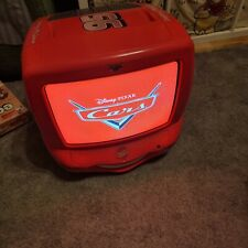 Lightning mcqueen Disneys Car TV DVD Player Combi