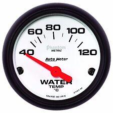 "AutoMeter 40-120 °C 2-1/16"" Phantom Analog Water Temp Gauge * 5737-M *"