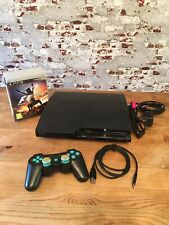 Amazing PlayStation 3 PS3 Slim 320GB Console Bundle With 4 Games Tested