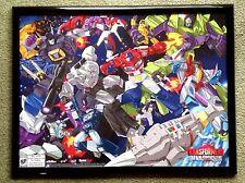 """SDCC 2015 Exclusive Transformers Devastation 24"""" x 19"""" Framed Poster"""
