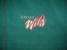 Vintage Minnesota Wild Center Ice NHL Hockey Reversible Vest Jacket Sz XXL NICE
