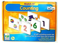 The Learning Journey International Match! Counting 30 Self-correcting Puzzle Set
