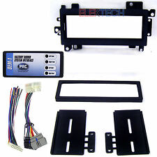 Radio Replacement Interface & Dash Mount Kit 1-DIN for Dodge/Jeep