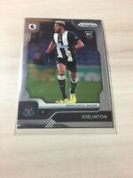 2019 20 chronicles PRIZM JOELINTON ROOKIE RC CARD SOCCER NEWCASTLE UNITED # 326