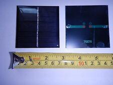 4V x 140 mA. Mini Solar Panel   epoxy encapsulated virtually indestructible .5W