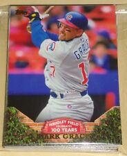 2016 Topps Series 1 & 2 100 YEARS AT WRIGLEY FIELD 50 CARD SET 1-50