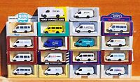 LLEDO DIECAST PM MODELS - 1992  FORD TRANSIT VANS - CHOOSE FROM LIST -  LOT 28