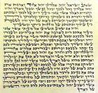10cm kosher Mezuzah Scroll klaf Mezuza Parchment