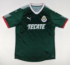 Cd Guadalajara - Puma Green Football Jersey - Soccer Shirt Tecate - Youth Xl
