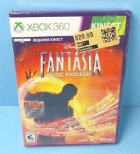Disney Fantasia - Music Evolved Xbox 360 Kinect BRAND NEW FACTORY SEALED