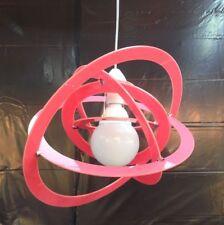 LAMPADARIO A SOSPENSIONE in Plexiglass Moderno VARI COLORI Cameretta bambini E27