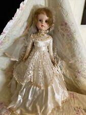 """18"""" Vintage American Character Sweet Sue Walker Bride Doll Original Gown 1953"""