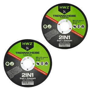 Schruppscheiben Inox 25 Stück 230 x 6.0 mm Trennscheibe für Edelstahl und Metall