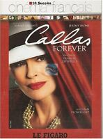 DVD CALLAS FOREVER fanny ardant jeremy irons franco zeffirelli COLLECTION FIGARO