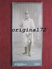 Foto original oficial de la infantería con Prim y sables Pio