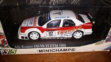 Minichamps 1/43 Alfa Romeo 155 V6 TI #27 DTM 1995 M. Alen