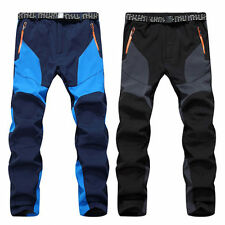 Mens Winter Ski Snowboard Pants Waterproof Hiking Climbing Warm Outdoor Trousers