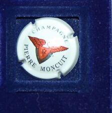 1 Plaque de muselet de champagne Moncuit Pierre