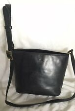 CELLINI Black  Leather Cross Body/Shoulder Bag / Handbag