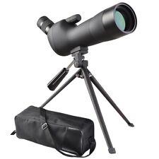 20-60x60 Birding Zoom Spotting Scope Tripod Water/Fogproof Black Nitrogen-filled