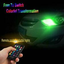 T10 5050 Remote Control Car Led Bulb 6 Smd Multicolor 501 Bulbs Side Light G8S0