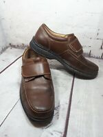 Clarks Mens Swift turn Mahogany  Extra  Wide Fitting Riptape Shoes  Uk 8 Formal