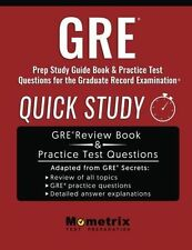 GRE Prep Study Guide: Quick Study Book & Practice Test Questions for the Graduat