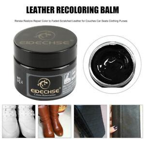 Leather Repair Filler Cream Kit Restore Car Sofa Seat Scratch Scuffs Hole Rip UK
