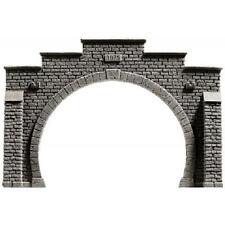 Noch 58052 Tunnel-Portal, 2-gleisig, 21 x 14 cm Neuware