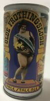 Olde Frothingslosh Pale Stale Ale Vintage Beer Can Opened On Bottom Empty