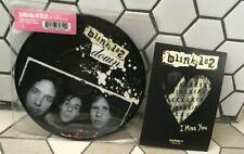 "Blink 182 Down  7"" NEW vinyl picture disc single UK OOP MCS40366 + PROMO STICKER"
