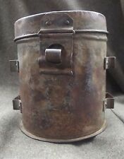 WW1. Austro-Hungarian/German ? Gas Mask Canister Can Box Container ?
