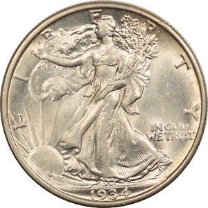1934 WALKING LIBERTY HALF DOLLAR - UNCIRCULATED!