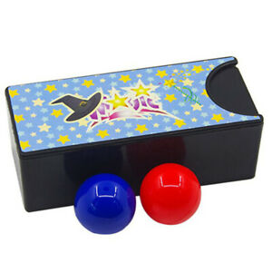 Box Turning The Red Ball Into The Blue Ball Magic Tricks Close Up Magic Prop Dt