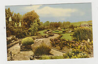 VALLEY GARDENS CASTLEFORD..OLD  PRINTED  POSTCARD.  .