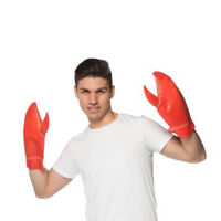 Lobster Claws Costume Hands Gloves Crab Latex Halloween Cosplay Giant Funny Gift