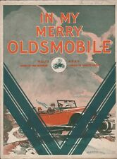 In My Merry Oldsmobile 1926 ANTIQUE AUTO Cover Sheet Music!