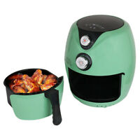 Air Fryer Electric 1200W Oil Free Kitchen 3.5L Home Cooker Healthy Frying Food