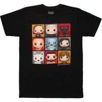 Game Of Thrones Funko Grid T-Shirt