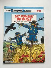 LES TUNIQUES BLEUES N°40 ... LES HOMMES DE PAILLE ... EO