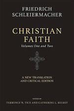 Christian Faith (Two-Volume Set) New Translation Critical  by Schleiermacher Fri