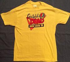 Grateful Dead Summer Solstice 1989 Shoreline Promo T-Shirt NEW Extra Large GDP
