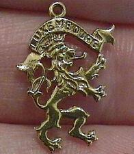 14k gold vintage LUXEMBOURG LION CREST charm Luxemburg