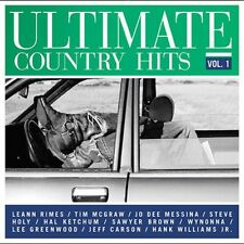 Vol. 1-Ultimate Country Hits - Ultimate Country Hits (2003, CD NEUF) Rimes/Mc