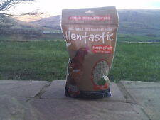 HENTASTIC FORAGING FEAST 1Kg MINT AND PARSLEY  poultry treat chickens
