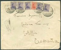 URUGUAY TO SPAIN Cover 1931 VERY GOOD