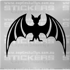 FRUIT BAT DECAL 180mmx130mm 15 COLOURS TO CHOOSE FROM MPN 259
